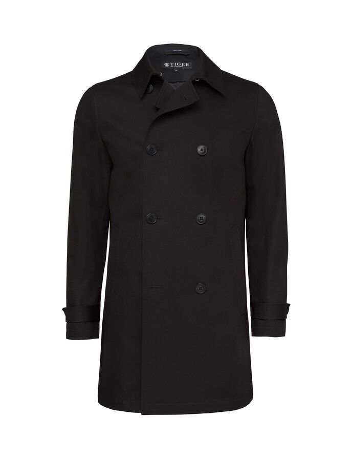 CHALMER COAT in Black from Tiger of Sweden