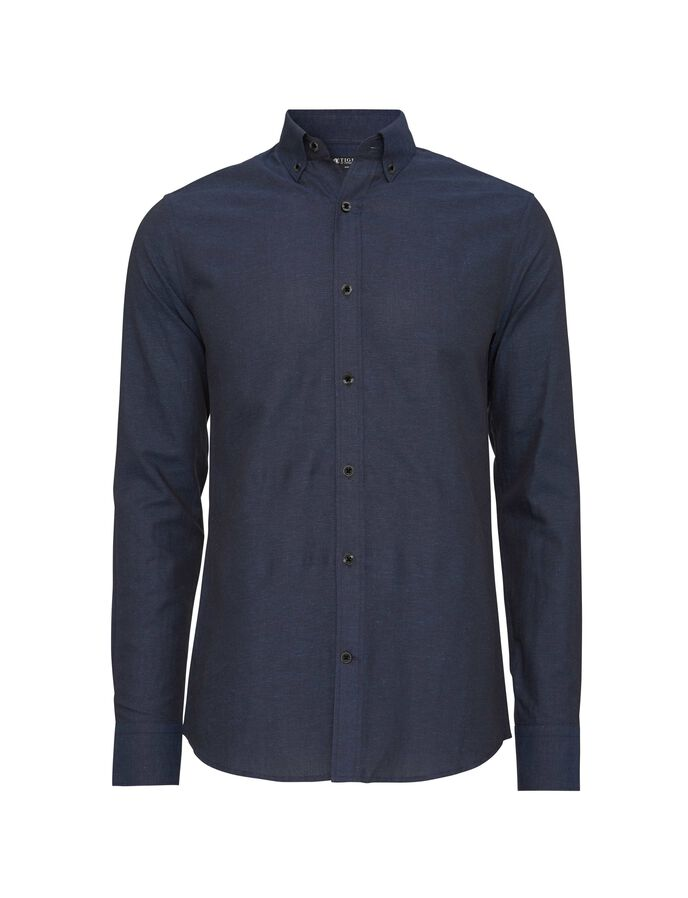 DONALD SHIRT in Navy Peony from Tiger of Sweden