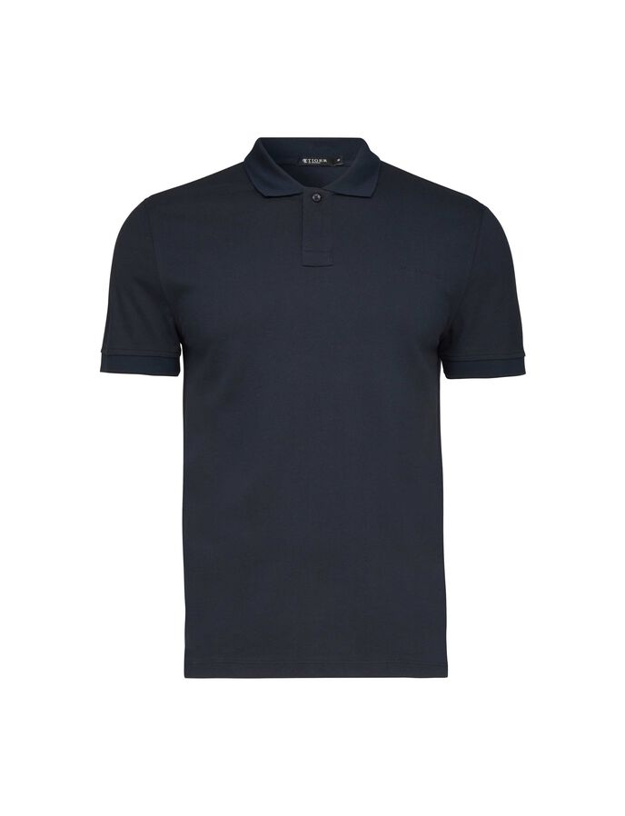 OSRON POLO SHIRT in Light Ink from Tiger of Sweden