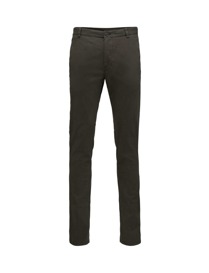 TRANSIT TROUSERS in Black Green from Tiger of Sweden