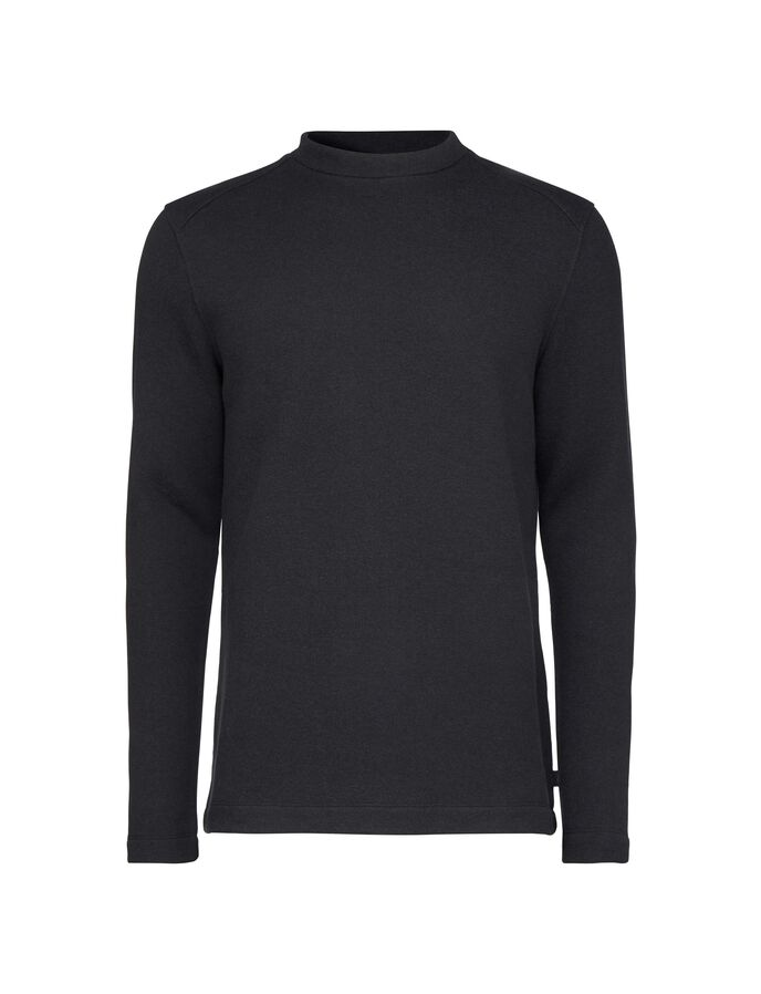 ZAC SWEATSHIRT in Black from Tiger of Sweden