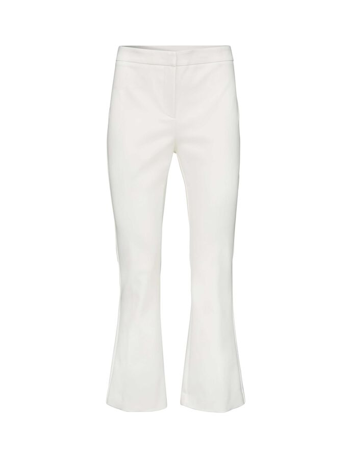 NOORA TROUSERS in Star White from Tiger of Sweden