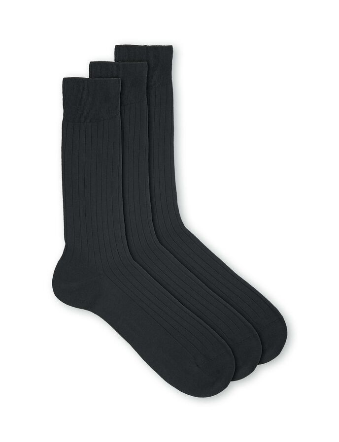 REIGATE R3 SOCKS in Monument from Tiger of Sweden
