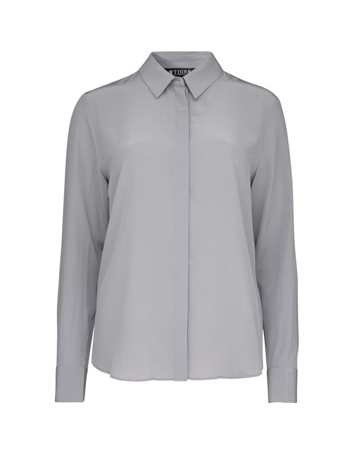 SILWA 2 SHIRT in Sleet from Tiger of Sweden