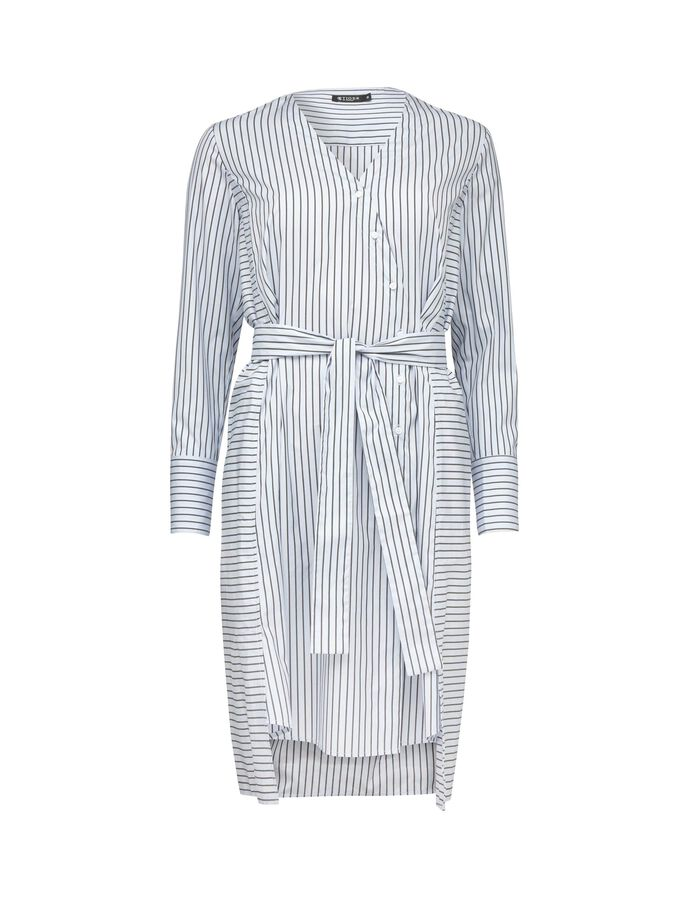 LILAC S SHIRT-DRESS in Art Deco Blue from Tiger of Sweden