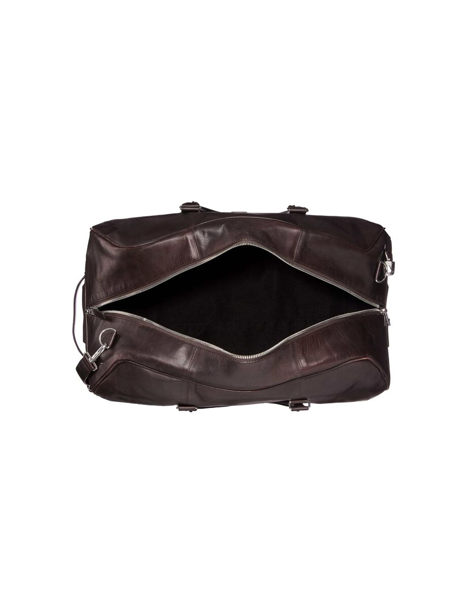 PINCHON WEEKEND BAG in Dark Brown from Tiger of Sweden