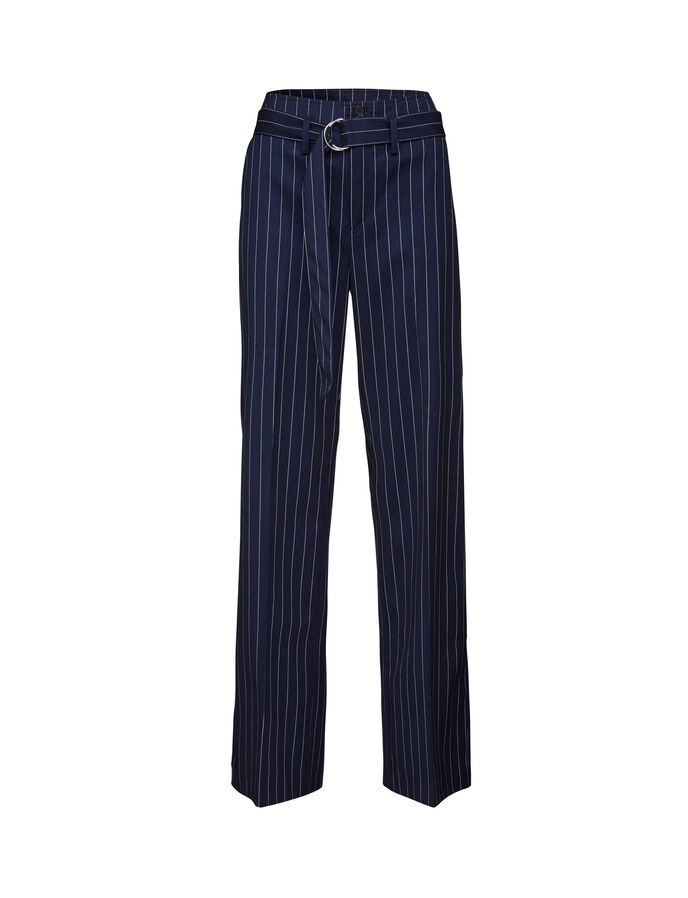 DOE TROUSERS in Maritime Blue from Tiger of Sweden