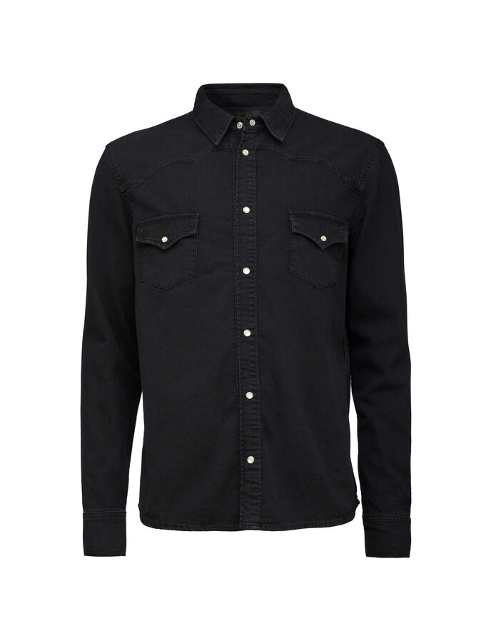 PURE SHIRT in Black from Tiger of Sweden