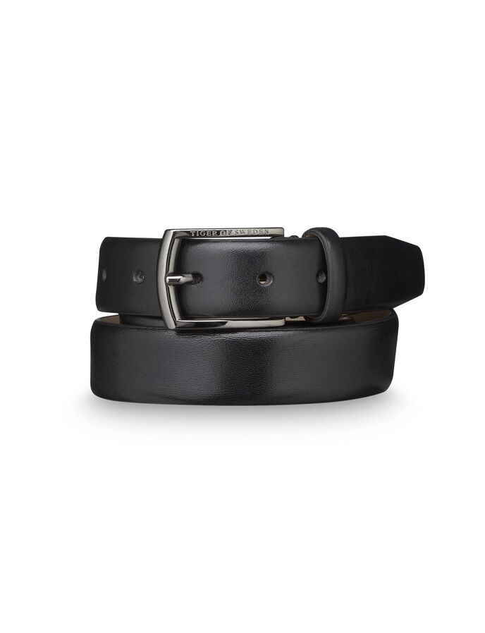ASENBY BELT in Gun Metal from Tiger of Sweden