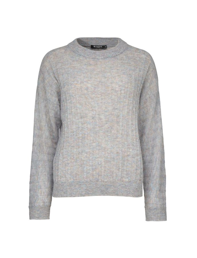 GALYA PULLOVER in Art Deco Blue from Tiger of Sweden