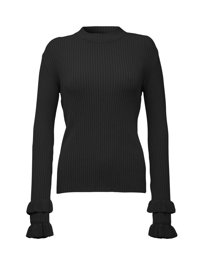 KAY PULLOVER  in Black from Tiger of Sweden