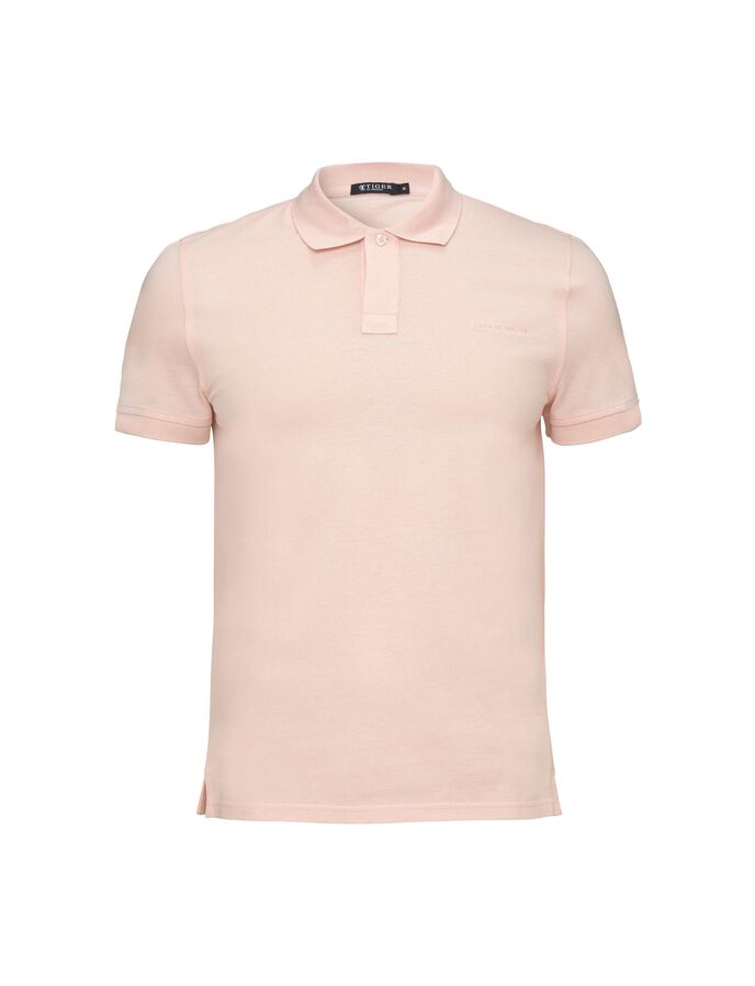OSRON POLO SHIRT in Chintz Rose from Tiger of Sweden