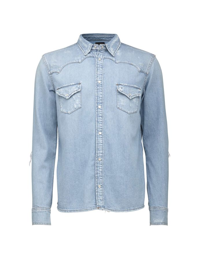 PURE SHIRT in Light blue from Tiger of Sweden