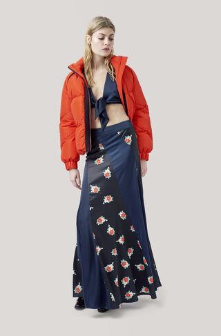 Glenmore Skirt, Block Colour, hi-res