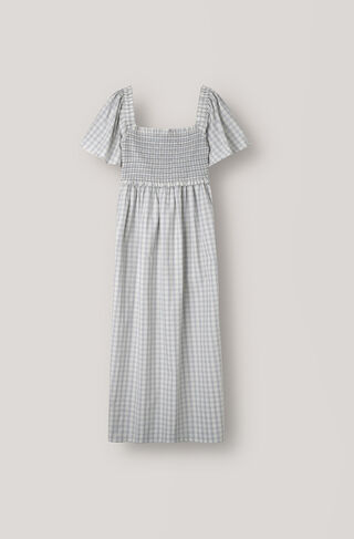 Maryville Check Dress, Pearl Blue, hi-res