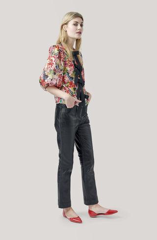 Seneca Silk Blouse, Multicolour, hi-res