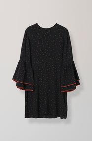 Emory Crepe Dress, Black, hi-res