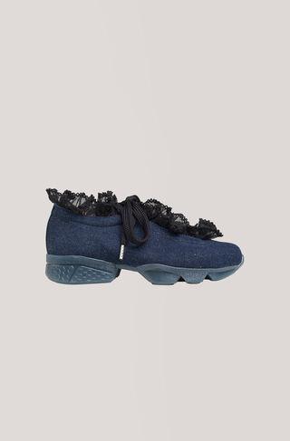 Ariana Sneakers, Denim, hi-res