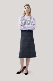 Driggs Skirt, Ebony Melange, hi-res