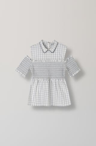 Maryville Check Shirt, Pearl Blue, hi-res