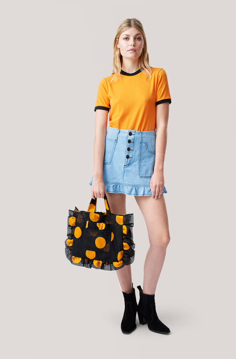 Pascal Denim Skirt, Denim, hi-res