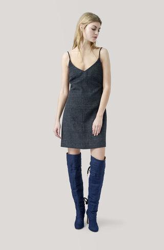 Woodside Dress, Ebony Melange, hi-res