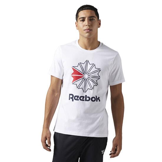 Reebok - Reebok Classics Graphic Tee White BQ3474