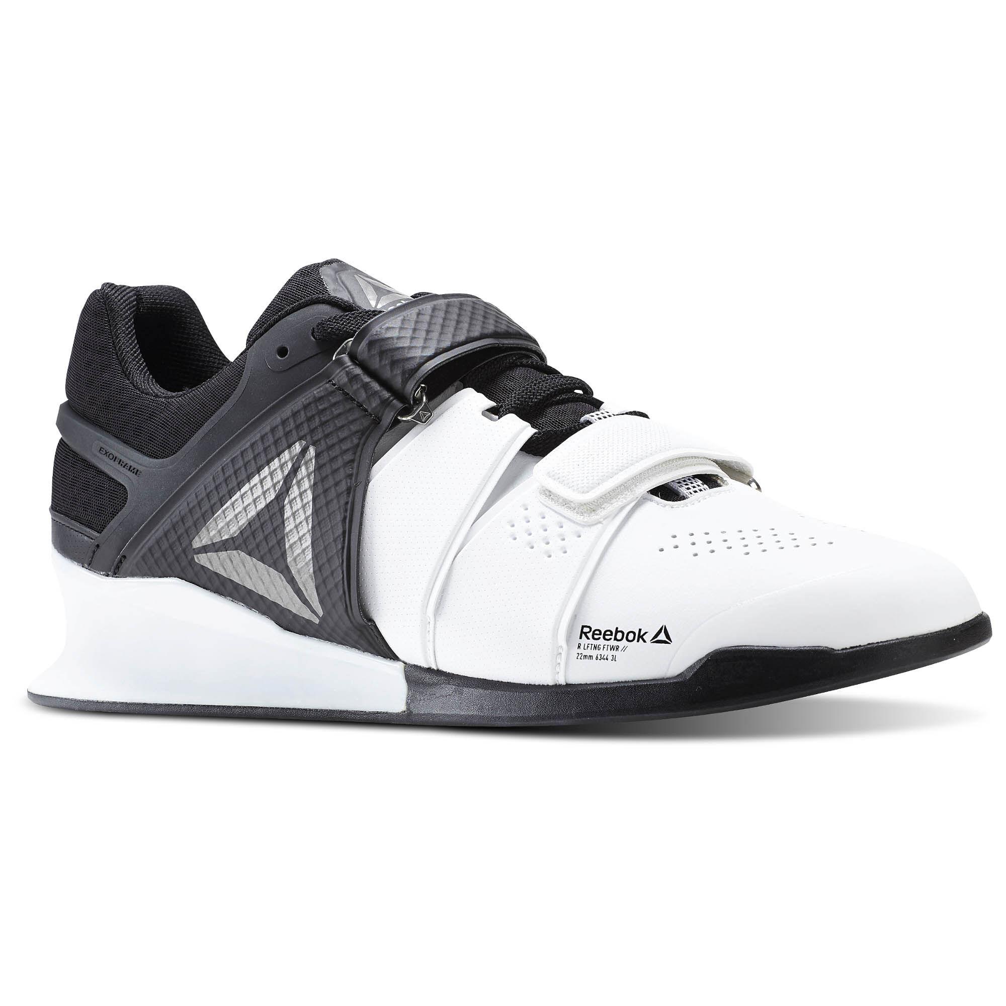 Reebok Black Velcro Shoes