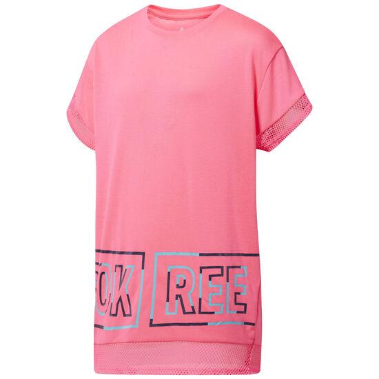 Reebok - Girl Squad T-Shirt Acid Pink CF9416