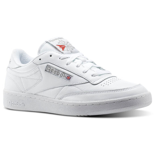 Reebok - Club C 85 Archive White/Carbon/Excellent Red CN0648