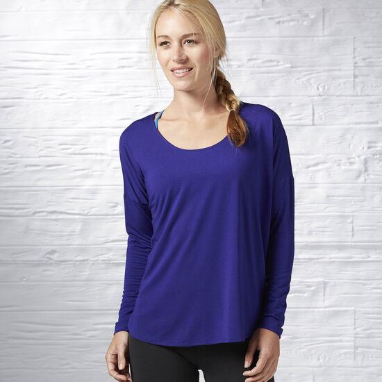 Reebok - Studio Lux Wool Blend Cover Up Pigment Purple S93792