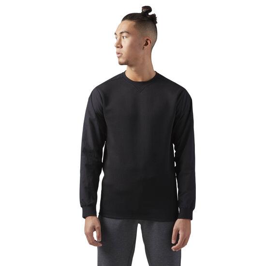 Reebok - Training Supply Crewneck Sweatshirt Black CD5186