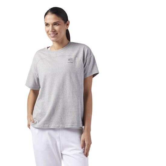 Reebok - Classic Cotton T-Shirt Medium Grey Heather CF9499