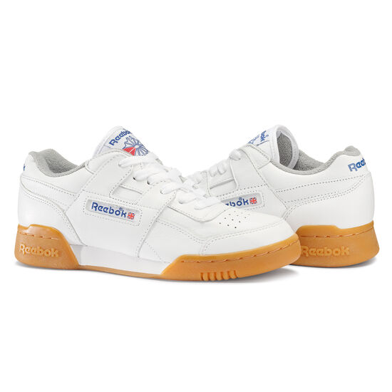 Reebok - Workout Plus R12 White/Reebok Royal/Flat Grey M45031