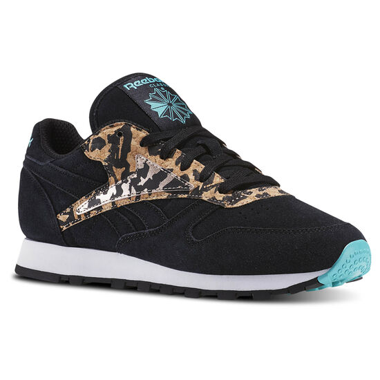 Reebok - Classic Leather Hijacked Heritage Black/Timeless Teal/Rose Gold/White BD3740