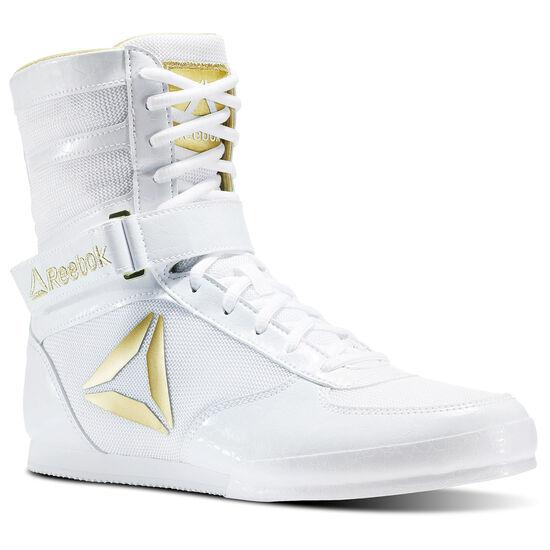 Reebok - Reebok Boxing Boot - Buck White/Gold CN5080