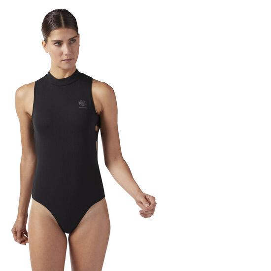 Reebok - Mock Turtle Neck Bodysuit Black CF9528
