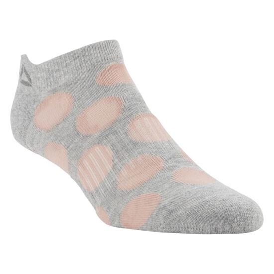 Reebok - Enhanced Antislip Sock Medium Grey Heather CV6897