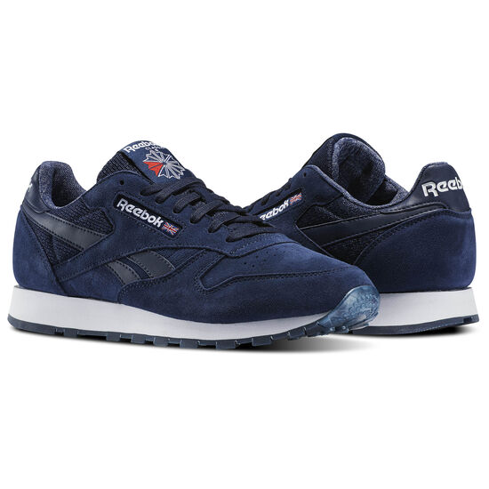Reebok - Classic Leather NM Collegiate Navy/White BS6297