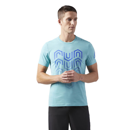 Reebok - ACTIVCHILL Running T-Shirt Turquoise CW0466