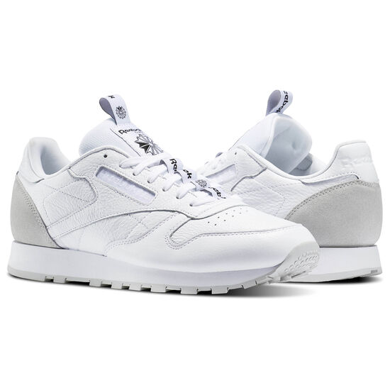 Reebok - Classic Leather IT White/Skull Grey/Black BS6209
