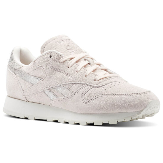 Reebok - Classic Leather Shimmer Pale Pink/Matte Silver/Chalk BS9865