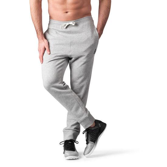 Reebok - Elements French Terry Cuffed Pant Medium Grey Heather BK5054