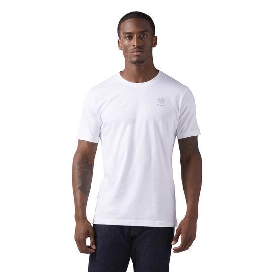 Reebok - Starcrest Heritage Logo T-Shirt White CE5084
