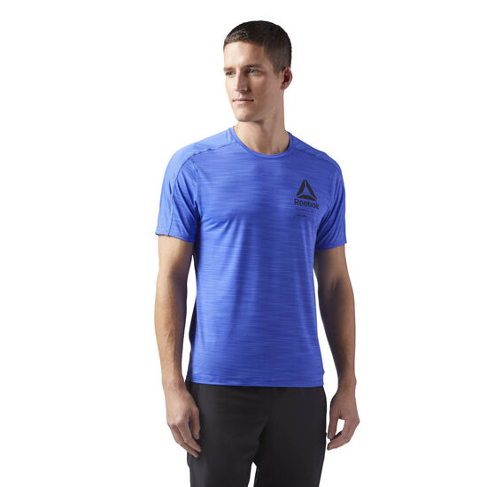 Reebok - ACTIVCHILL Graphic T-Shirt Acid Blue CD5220
