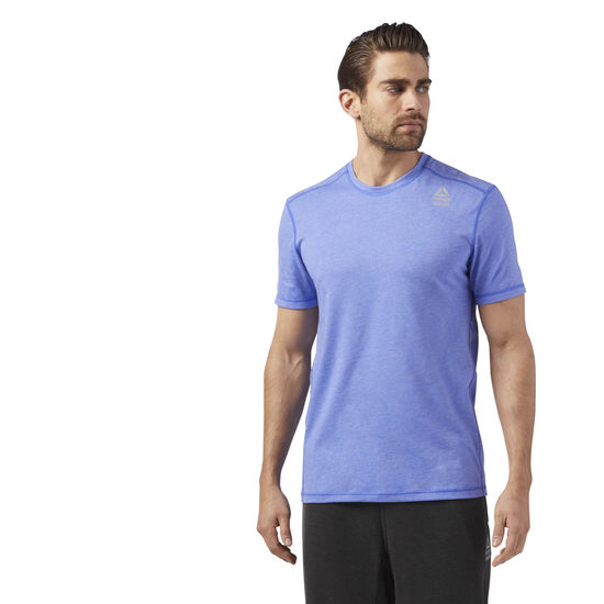 Reebok - Reebok CrossFit Burnout Tee Acid Blue CD4488