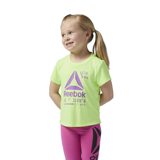 Reebok - Girls Essentials Tee Electric Flash BQ5336