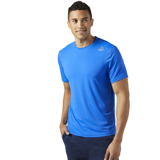 Reebok - Workout Ready ACTIVCHILL Tech Tee Vital Blue BQ6135