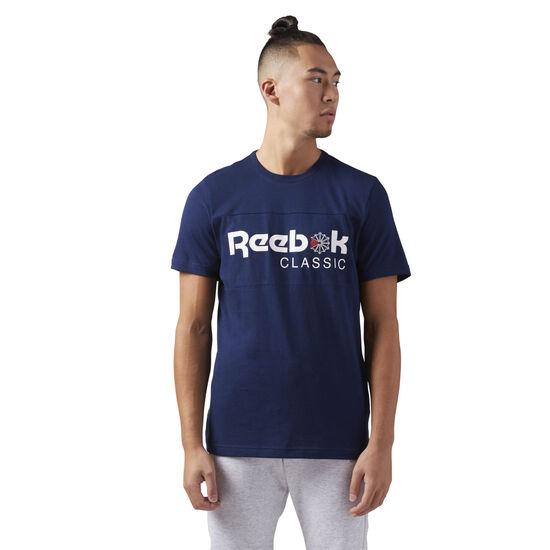 Reebok - Reebok Classics Iconic Tee Collegiate Navy/Collegiate Navy CE1845