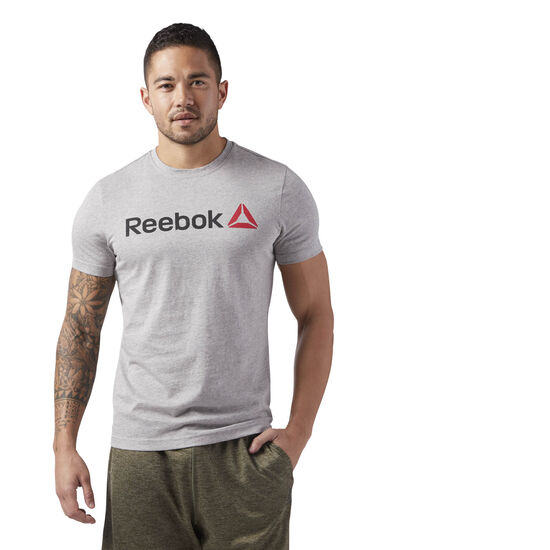 Reebok - QQR- Reebok Linear Read Medium Grey Heather CW5375